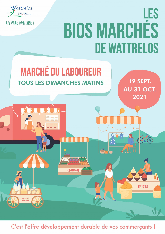 Les bios marchés de Wattrelos